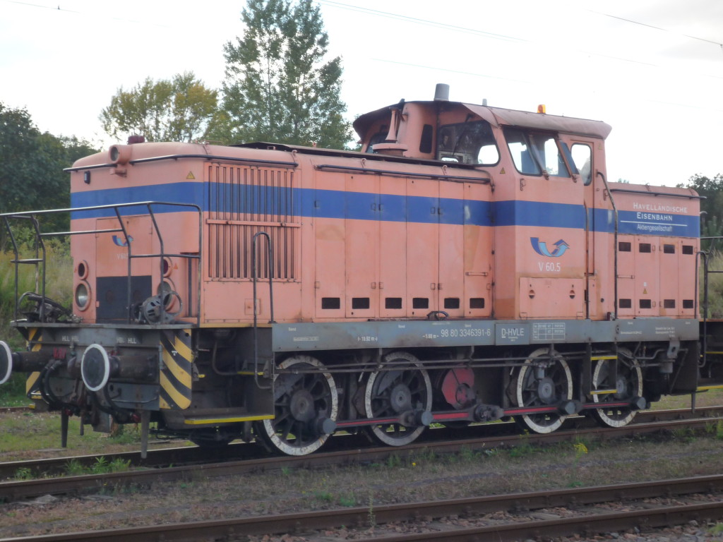 Rebuilt former East German shunting train