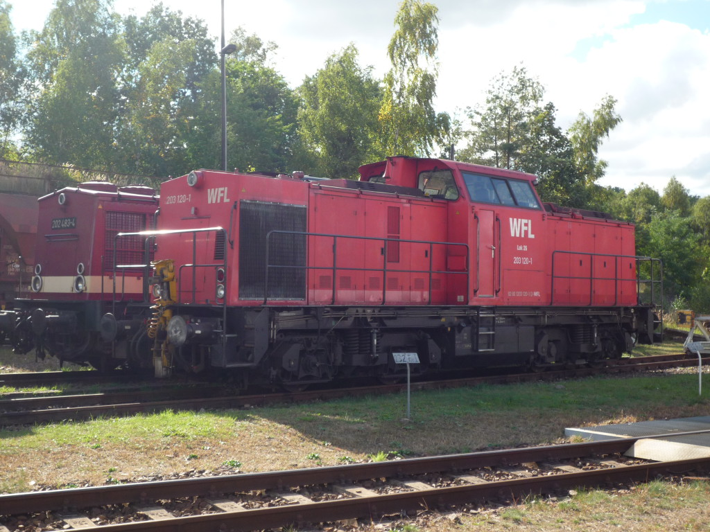 German shunting train